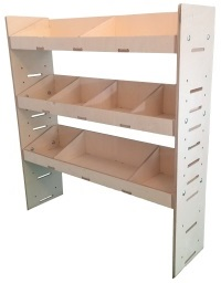 Van Ply Shelving and Wood Racking Storage System 1087mm x 1000mm x 269mm - BVR1010263