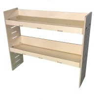 Van Ply Shelving and Wood Racking Storage System 862mm x 1000mm x 269mm - BVR8610262